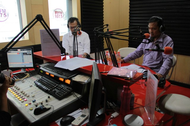 Talkshow Interaktif LIPI di PR FM tentang Science Techno Park